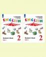 Английский язык (Углубленный уровень) 2 класс Учебник Верещагина (цена за комплект из двух частей) Новое оформление /Просвещение