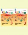 Английский язык (Углубленный уровень) 3 класс Учебник Верещагина (цена за комплект из двух частей) Новое оформление /Просвещение