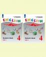 Английский язык (Углубленный уровень) 4 класс Учебник Верещагина (цена за комплект из двух частей) Новое оформление /Просвещение