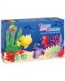 Тесто для лепки в коробке Море 8 цветов 200гр П104 /Ляпсик