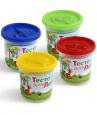Тесто для лепки в банке 1 цвет в ассортименте 140гр П120 /Ляпсик