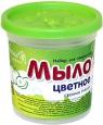 Мыло своими руками цветное в банке Зеленое яблоко С0245 /Аромафабрика