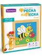 Фреска из цветного песка 17*17см Пчелка С1715 /Развивашки