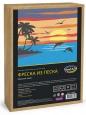 Фреска из цветного песка А4 Морской закат С1770 /Развивашки
